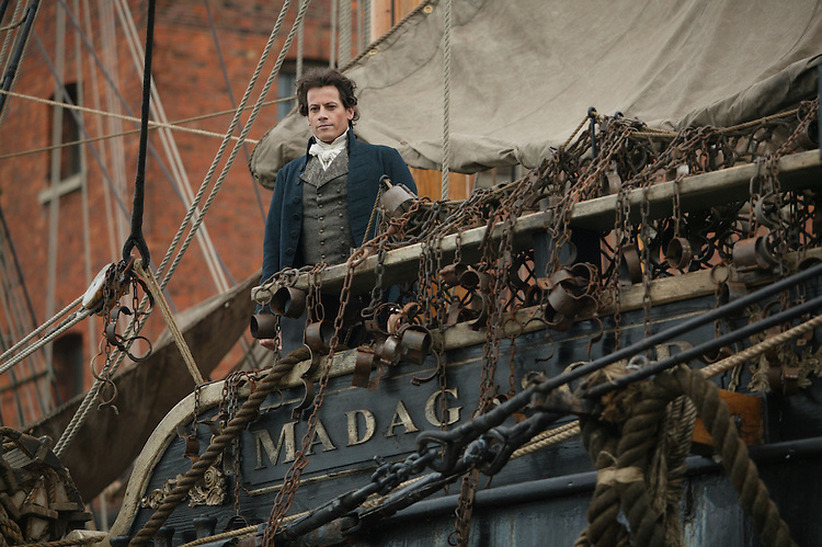 Ioan Gruffudd as William Wilberforce in Amazing Grace.