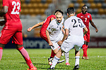 Odai Alsaify of Jordan (C) in action during the International Friendly match between Hong Kong and Jordan at Mongkok Stadium on June 7, 2017 in Hong Kong, China. Photo by Marcio Rodrigo Machado / Power Sport Images