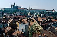 Tschechien, Prag, Blick auf  Kleinseite
