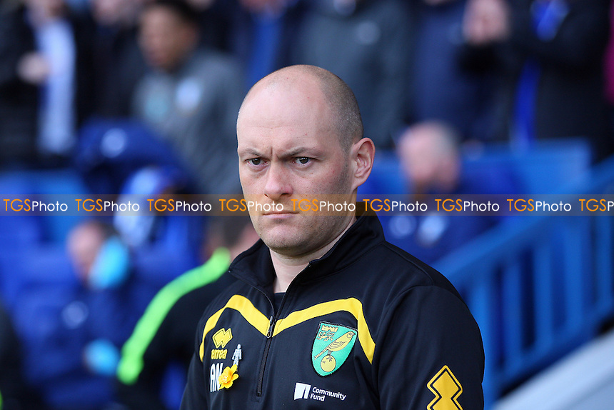 Norwich City manager Alex Neil during Sheffield Wednesday vs Norwich City, Sky Bet EFL Championship Football at Hillsborough on 4th March 2017