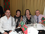 Pat and Margaret McGrane and Dermot and Patricia O'Brien at the Glen Emmets dinner dance in The Glenside Hotel. Photo:Colin Bell/pressphotos.ie