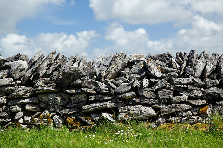 Dry stone wall, Republic of Ireland