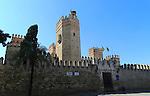 Historic castle, Castillo de San Marcos, Puerto de Santa Maria, Cadiz province, Spain