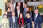 The staff from Houlihans Coaches Killorglin enjoying their Christmas party in the Dromhall Hotel on Saturday night front row l-r: Lena Roche, Liam Roche, Ann O'Connor, Mary Breen, Sean Houlihan, middle row: Joan and Pat Griffin, James O'Connor, back row: Sinead Houlihan, James O'Connor, Brian Foyle