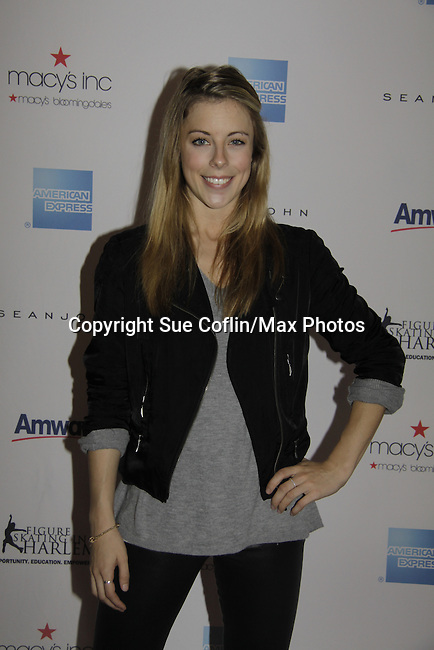 Ashley Wagner - Skating with the Stars - a benefit gala for Figure Skating in Harlem in its 17th year is celebrated with many US, World and Olympic Skaters honoring Michelle Kwan and Jeff Tweedy on April 7, 2014 at Trump Rink, Central Park, New York City, New York. (Photo by Sue Coflin/Max Photos)