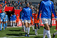 Bridgeview, IL - Saturday April 22, 2017: Brittany Taylor during a regular season National Women's Soccer League (NWSL) match between the Chicago Red Stars and FC Kansas City at Toyota Park.