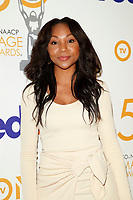 LOS ANGELES - MAR 9:  Amberia Allen at the 50th NAACP Image Awards Nominees Luncheon at the Loews Hollywood Hotel on March 9, 2019 in Los Angeles, CA