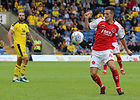 Fleetwood Town's Jason Holt in action<br /> <br /> Photographer David Shipman/CameraSport<br /> <br /> The EFL Sky Bet League One - Oxford United v Fleetwood Town - Saturday August 11th 2018 - Kassam Stadium - Oxford<br /> <br /> World Copyright &copy; 2018 CameraSport. All rights reserved. 43 Linden Ave. Countesthorpe. Leicester. England. LE8 5PG - Tel: +44 (0) 116 277 4147 - admin@camerasport.com - www.camerasport.com