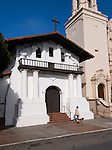 California: San Francisco. Mission Dolores, front. Photo copyright Lee Foster. Photo #: 26-casanf78595