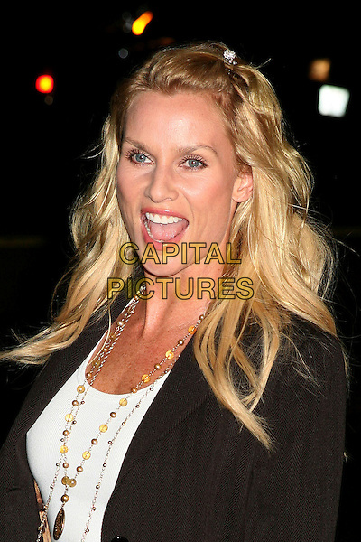 "NICOLLETTE SHERIDAN.World Premiere of ""Running With Scissors"", Beverly Hills, California, USA..October 10th, 2006.Ref: ADM/BP.headshot portrait mouth open Nicolette .www.capitalpictures.com.sales@capitalpictures.com.©Byron Purvis/AdMedia/Capital Pictures."