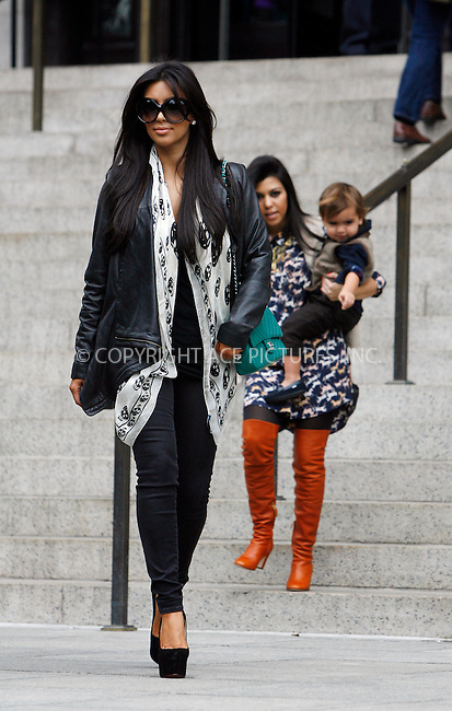 WWW.ACEPIXS.COM . . . . .  ....October 21 2011, New York City....(L-R) Kim Kardashian, Kourtney Kardashain and Mason Disick at the Metropolitain Meseum of Art on October 21 2011 in New York City....Please byline: CURTIS MEANS - ACE PICTURES.... *** ***..Ace Pictures, Inc:  ..Philip Vaughan (212) 243-8787 or (646) 679 0430..e-mail: info@acepixs.com..web: http://www.acepixs.com