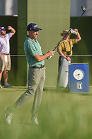 Geoff Ogilvy (AUS)  watches his tee shot on 1 during round 1 of the AT&T Byron Nelson, Trinity Forest Golf Club, at Dallas, Texas, USA. 5/17/2018.<br /> Picture: Golffile | Ken Murray<br /> <br /> <br /> All photo usage must carry mandatory copyright credit (© Golffile | Ken Murray)