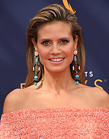 09 September 2018 - Los Angeles, California - Heidi Klum . 2018 Creative Arts Emmy Awards - Arrivals held at Microsoft Theater. <br /> CAP/ADM/BT<br /> &copy;BT/ADM/Capital Pictures