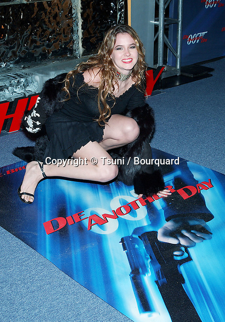 "Marieh Delfino arriving at the premiere of ""Die Another Day"" at the Shrine Auditorium in Los Angeles. November 11, 2002.           -            DelfinoMarieh56.jpg"