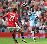 Kelechi Iheanacho of Manchester City  during the Premier League match at Old Trafford Stadium, Manchester. Picture date: September 10th, 2016. Pic Simon Bellis/Sportimage