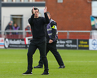 Fleetwood Town manager Joey Barton applauds the fans after the match<br /> <br /> Photographer Alex Dodd/CameraSport<br /> <br /> The EFL Sky Bet League One - Fleetwood Town v Accrington Stanley - Saturday 15th September 2018  - Highbury Stadium - Fleetwood<br /> <br /> World Copyright &copy; 2018 CameraSport. All rights reserved. 43 Linden Ave. Countesthorpe. Leicester. England. LE8 5PG - Tel: +44 (0) 116 277 4147 - admin@camerasport.com - www.camerasport.com