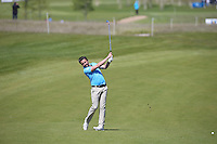 Mike Lorenzo-Vera (FRA) plays second shot to the 3rd during Round Two of the 2015 Nordea Masters at the PGA Sweden National, Bara, Malmo, Sweden. 05/06/2015. Picture David Lloyd | www.golffile.ie