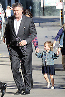 www.acepixs.com<br /> <br /> March 1 2017, LA<br /> <br /> Alec Baldwin arrived at the Jimmy Kimmel Show with his wife Hilaria Baldwin and daughter Carmen Baldwin on March 1 2017 in New York City<br /> <br /> By Line: Nancy Rivera/ACE Pictures<br /> <br /> <br /> ACE Pictures Inc<br /> Tel: 6467670430<br /> Email: info@acepixs.com<br /> www.acepixs.com