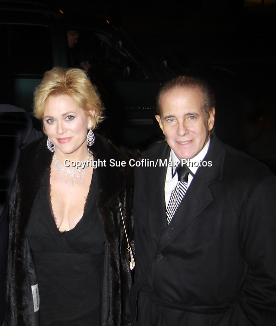 Tonya Walker and husband Ed Davidson - Actors, crew, production, family come to One Life To Live's wrap party and video tribute on November 18, 2011 at Capitale, New York City, New York.  (Photo by Sue Coflin/Max Photos)