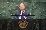 LOS general debate &ndash; 27 September<br /> <br /> PM<br /> <br /> His Excellency Joseph Muscat, Prime Minister, Republic of Malta