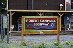 IMAGES OF THE YUKON,CANADA , THE ROBERT CAMPBELL HIGHWAY,
