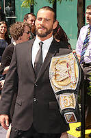 WWE superstar CM Punk attends USA Network's 2012 Upfront Event at Lincoln Center's Alice Tully Hsll in New York, 17.05.2012.  Credit: Rolf Mueller/face to face /MediaPunch Inc. ***FOR USA ONLY***