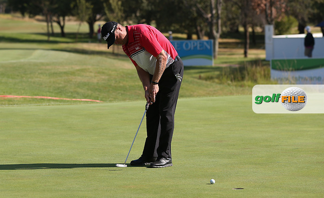 Doug McGuigan (RSA) misses birdie on the 9th during Round Three of the Tshwane Open 2015 at the Pretoria Country Club, Waterkloof, Pretoria, South Africa. Picture:  David Lloyd / www.golffile.ie. 14/03/2015
