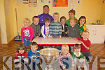 MONTESSORI: Tadgh Kennelly of the Kerry Team 2009 who brought the Sam Maguire Cup to Marie Montessori Pre-School on Tuesday...