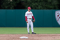 STANFORD, CA -- May 19, 2019. The Stanford Cardinal men's baseball team falls to the Oregon State Beavers 5-2 on senior day at Sunken Diamond.