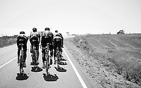Team SKY on a stage 17 TT recon ride around Burgos<br /> <br /> restday 2<br /> 2015 Vuelta &agrave; Espagna