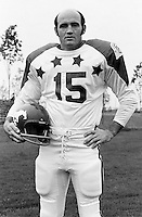 Larry Robinson 1970 Canadian Football League Allstar team. Copyright photograph Ted Grant