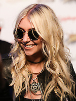LOS ANGELES, CA, USA - APRIL 23: Taylor Momsen at the 2014 Revolver Golden Gods Award Show held at Club Nokia on April 23, 2014 in Los Angeles, California, United States. (Photo by Xavier Collin/Celebrity Monitor)
