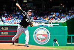 20 June 2010: Chicago White Sox' pitcher Freddy Garcia on the mound against the Washington Nationals at Nationals Park in Washington, DC. The White Sox swept the Nationals winning 6-3 in the last game of their 3-game interleague series. Mandatory Credit: Ed Wolfstein Photo