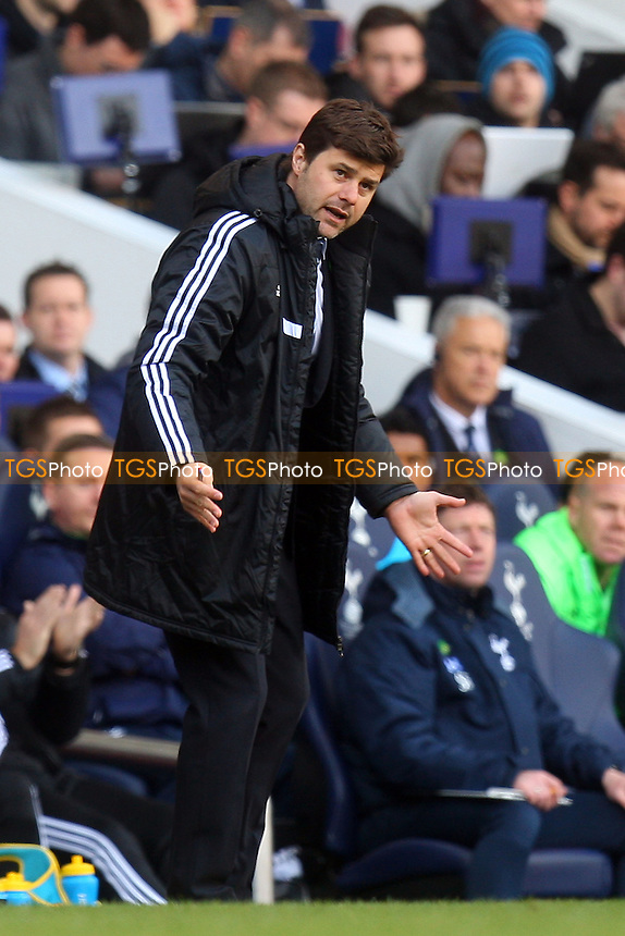 Southampton manager Mauricio Pochettino - Tottenham Hotspur vs Southampton, Barclays Premier League Football at the White Hart Lane Stadium - 23/03/14 - MANDATORY CREDIT: Dave Simpson/TGSPHOTO - Self billing applies where appropriate - 0845 094 6026 - contact@tgsphoto.co.uk - NO UNPAID USE