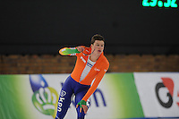 SCHAATSEN: BERLIJN: Sportforum, Essent ISU World Cup Speed Skating | The Final, 10-03-2012, 5000m Men, Sven Kramer (NED), ©foto Martin de Jong