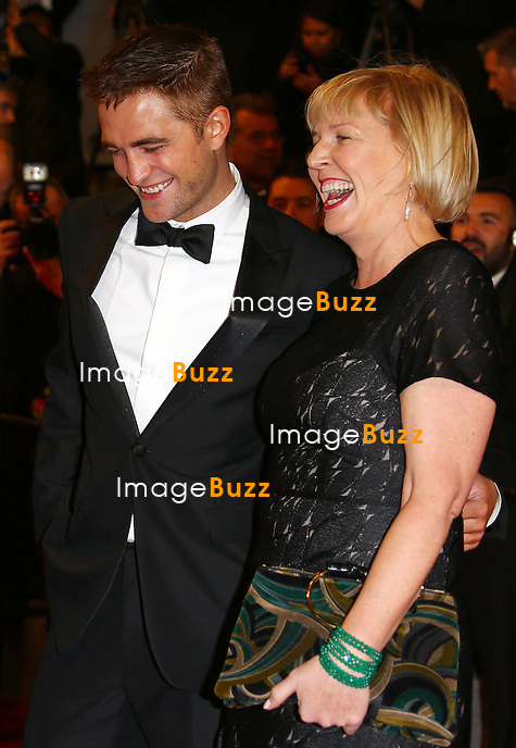 CPE/ Robert Pattinson and Liz Watts attend 'The Rover' Premiere at the 67th Annual Cannes Film Festival on May 18, 2014 in Cannes, France