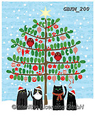 Kate, CHRISTMAS ANIMALS, WEIHNACHTEN TIERE, NAVIDAD ANIMALES, paintings+++++Christmas page 72 1,GBKM200,#xa#