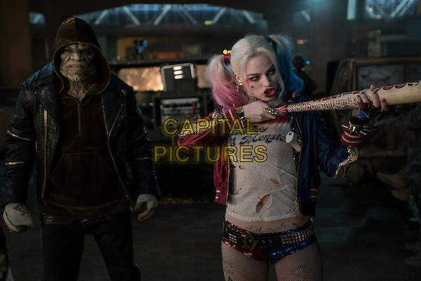 Suicide Squad (2016) <br /> Adewale Akinnuoye-Agbaje, Margot Robbie<br /> *Filmstill - Editorial Use Only*<br /> CAP/FB<br /> Image supplied by Capital Pictures