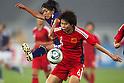 (L to R) Kozue Ando (JPN), Yuan Fan (CHN), September 11, 2011 - Football / Soccer : Women's Asian Football Qualifiers Final Round for London Olympic Match between Japan 1-0 China at Jinan Olympic Sports Center Stadium, Jinan, China. (Photo by Daiju Kitamura/AFLO SPORT) [1045]
