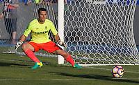 Villarreal's Andres Fernandez during the XXXVII trophy of Legane's City between CD Leganes and Villarreal CF at Butarque Stadium. August 13, 2016. (ALTERPHOTOS/Rodrigo Jimenez) /NORTEPHOTO