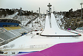 7th February 2017; PyeongChang, South Korea; Alpensia-Skis jumping areas, Province of Gangwon, South Korea. The Olympic Winter Games will be held from 9 until 25 February 2018