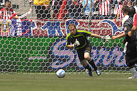 Chivas USA goalie Brad Guzan during a game against the Los Angeles Galaxy at the Home Depot Center in Carson, CA on Sunday, May 20, 2007. The teams played to a 1-1 draw.