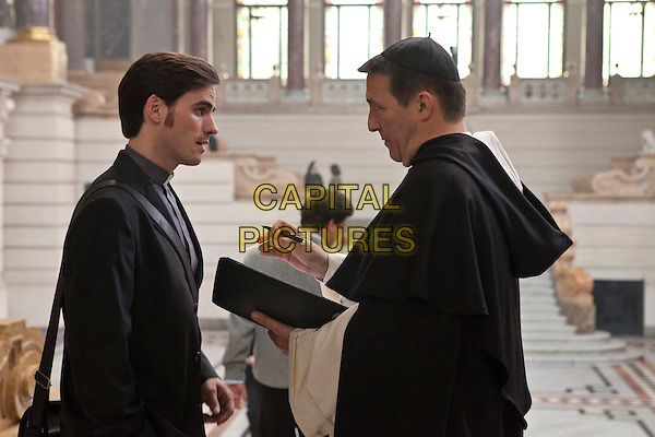 COLIN O'DONOGHUE & CIARAN HINDS .in The Rite .*Filmstill - Editorial Use Only*.CAP/FB.Supplied by Capital Pictures.