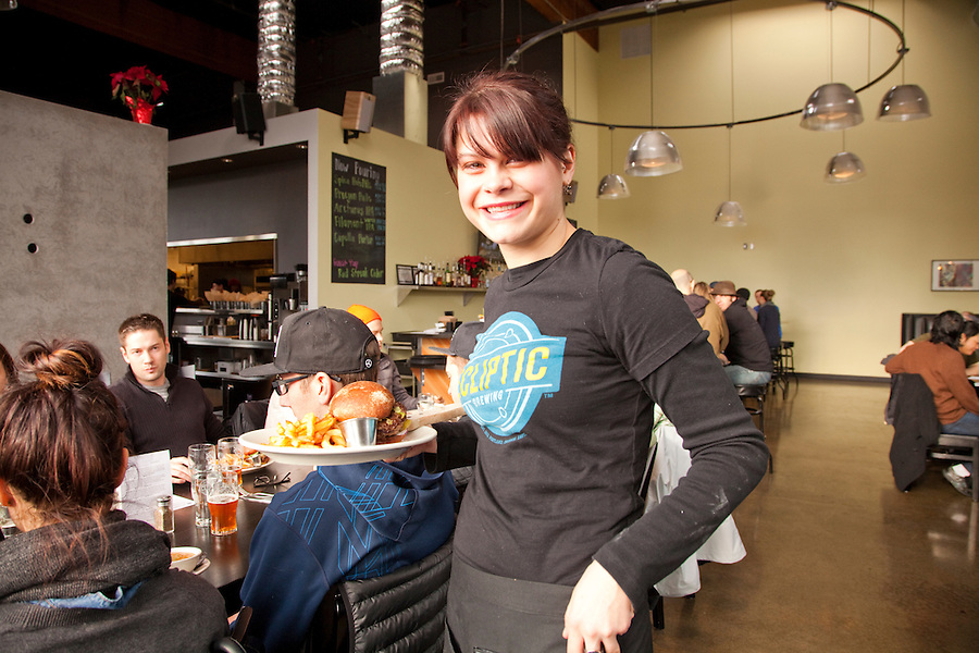 Ecliptic Brewing, Portland Oregon, server, Melanie Long
