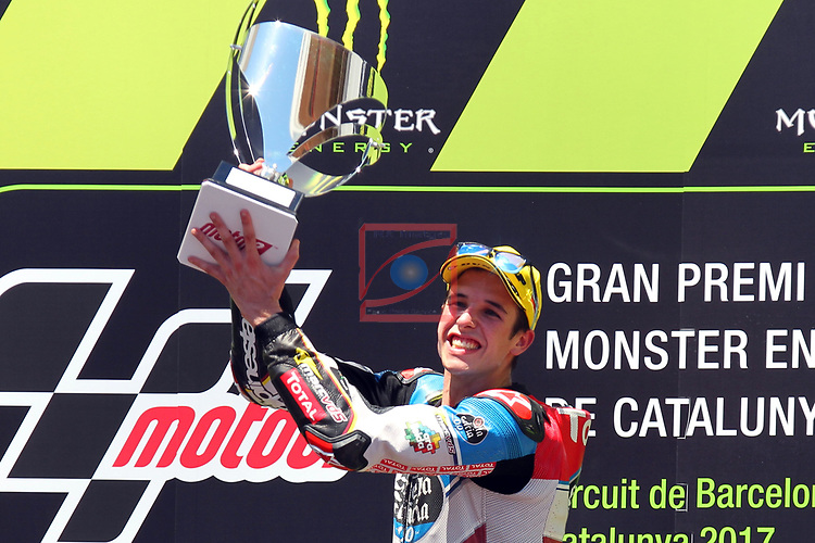 Gran Premi Monster Energy de Catalunya 2017.<br /> Moto 2 Race.<br /> Alex Marquez.