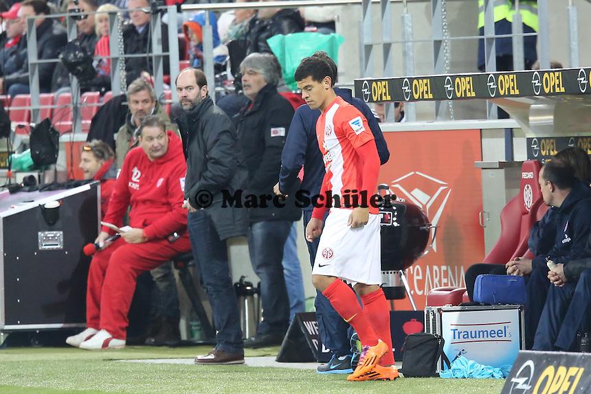 Shawn Parker (Mainz)- 1. FSV Mainz 05 vs. Eintracht Frankfurt, Coface Arena, 12. Spieltag