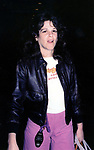 Gilda Radner leaving SAT NIGHT LIVE<br /> at Rockefeller Center on April 1, 1979 in New York City.
