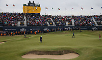 The scene at the 72nd hole; Jordan Spieth (USA) and Matt Kuchar (USA) battle it out during Sunday's Final Round at The 146th Open played at Royal Birkdale, Southport, England.  23/07/2017. Picture: David Lloyd | Golffile.<br /> <br /> Images must display mandatory copyright credit - (Copyright: David Lloyd | Golffile).