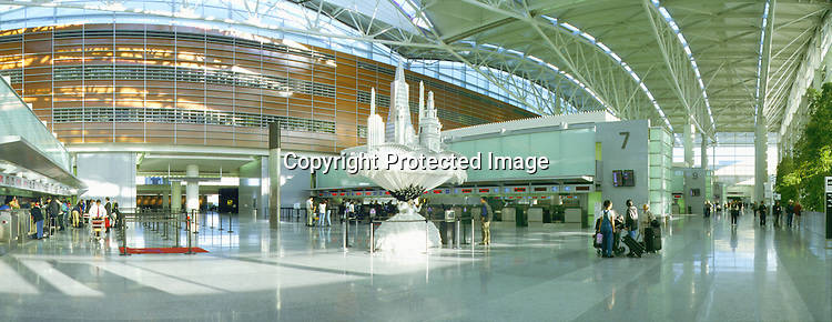 International Terminal at San Francisco International Airport. Opened in the fall of 2000.