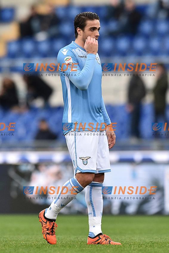 Alessandro Matri Lazio.<br /> Roma 6-01-2016 Stadio Olimpico, Football Calcio 2015/2016 Serie A Lazio - Carpi. Foto Antonietta Baldassarre / Insidefoto